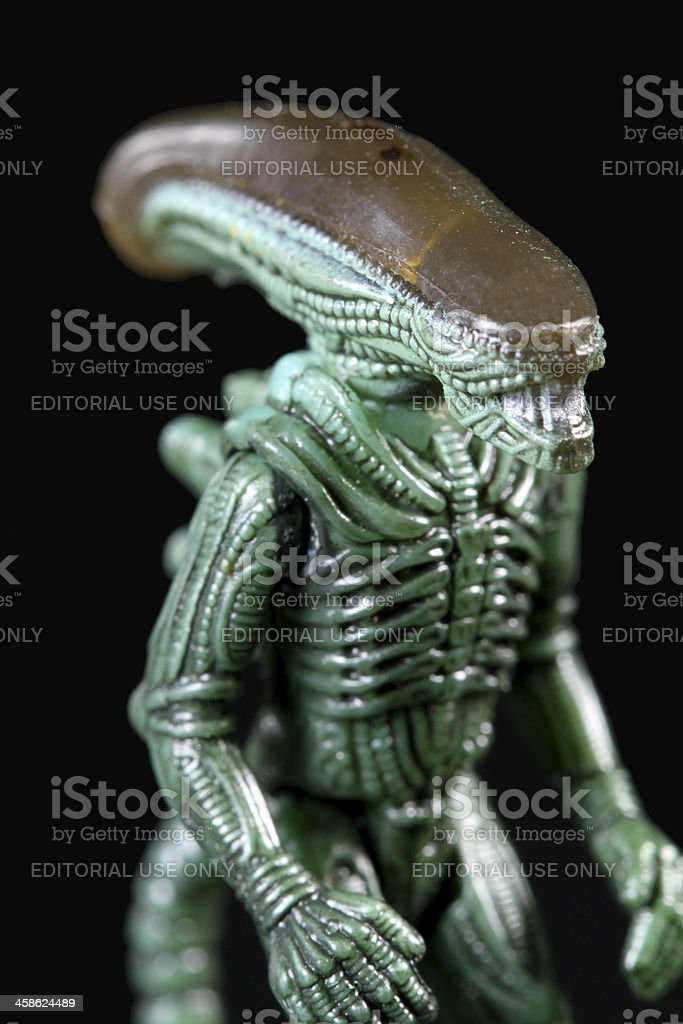 Alien royalty-free stock photo