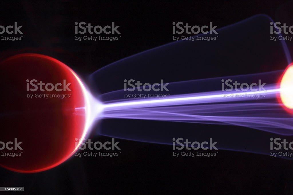 Alien Plasma Energy royalty-free stock photo