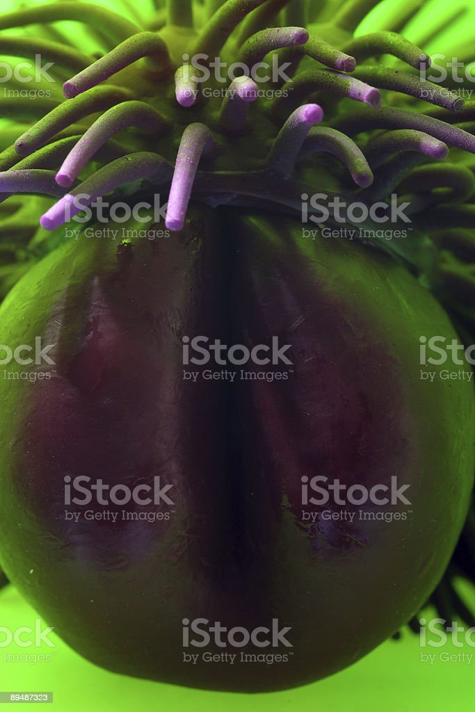 Alien Pod Thing royalty-free stock photo
