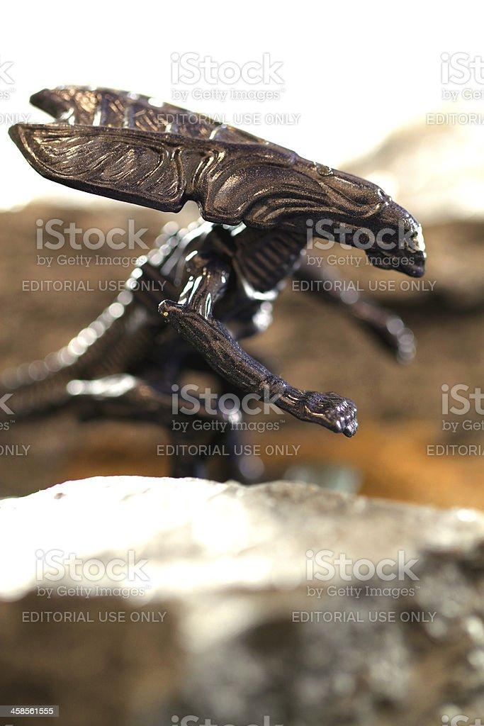 Alien Queen royalty-free stock photo
