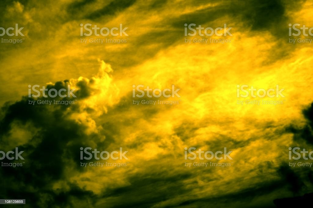 Alien Sky royalty-free stock photo