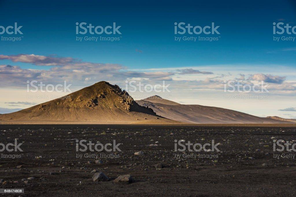 Alien's Planet stock photo