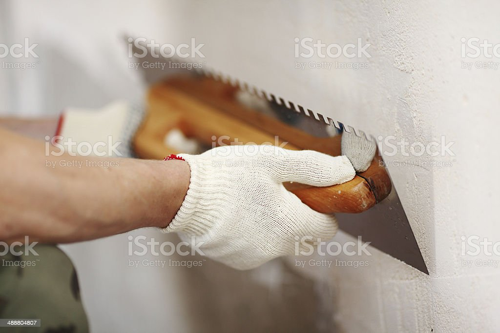 aligns wall stock photo