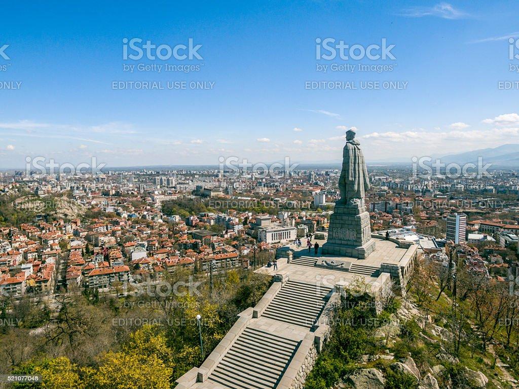 Aliosha monument in Plovdiv stock photo