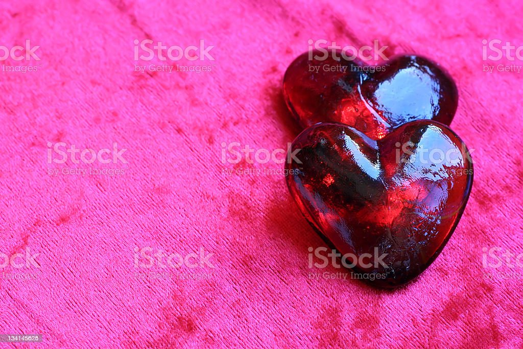 'Alive hearts' royalty-free stock photo