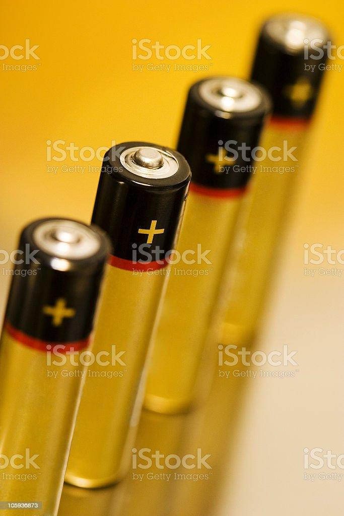 alkaline batteries 02 royalty-free stock photo