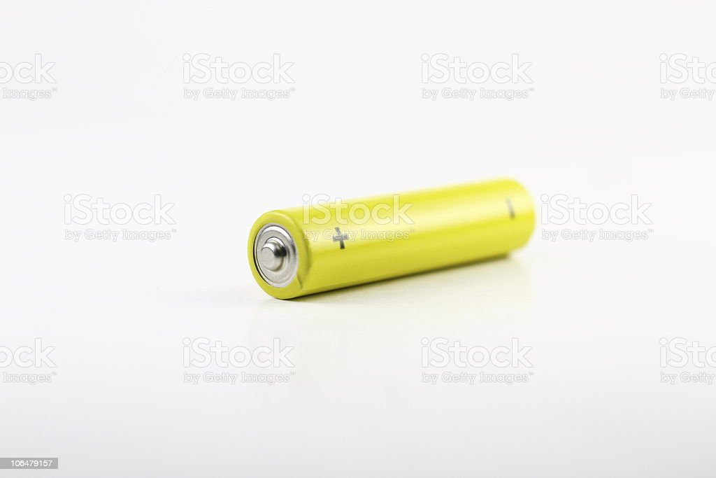 alkaline battery royalty-free stock photo