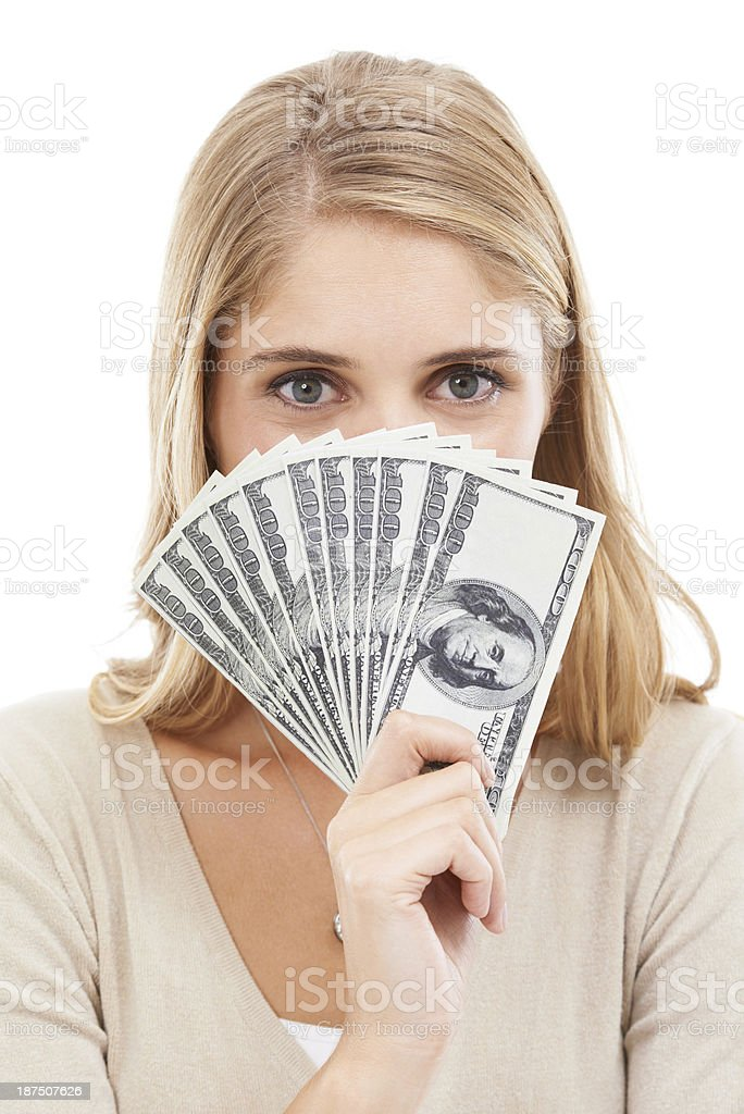 All abou the Benjamins! royalty-free stock photo