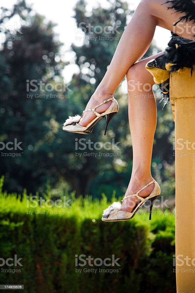 All about legs royalty-free stock photo