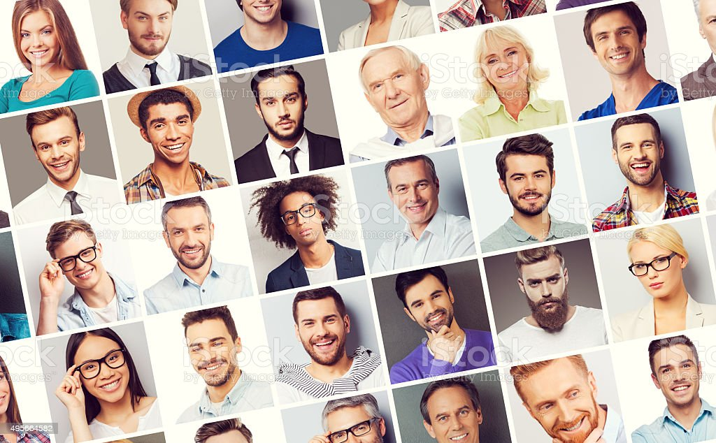 All about people. stock photo