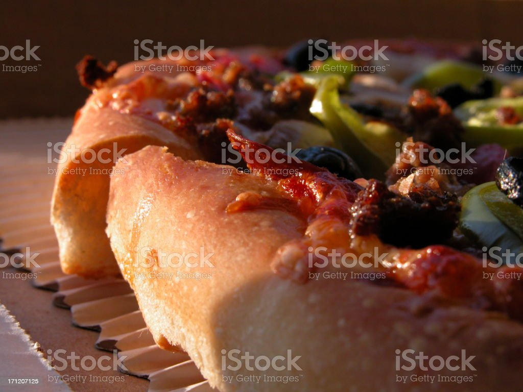 All about the crust royalty-free stock photo