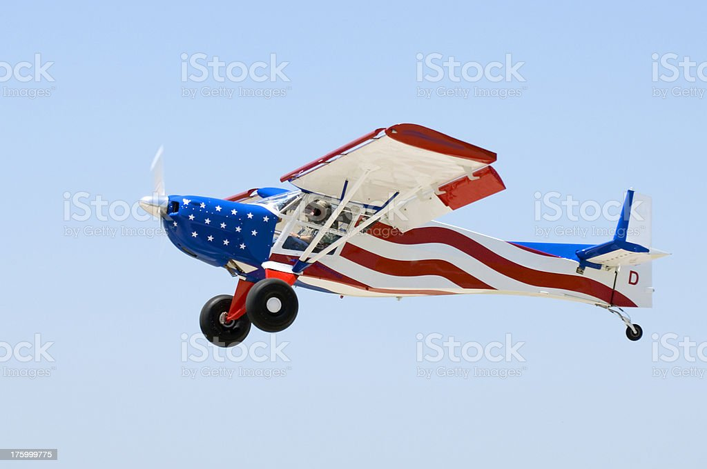 All American Aircraft royalty-free stock photo