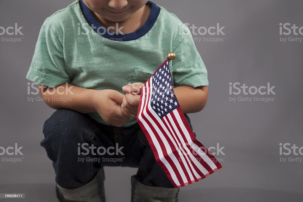 All American Boy royalty-free stock photo