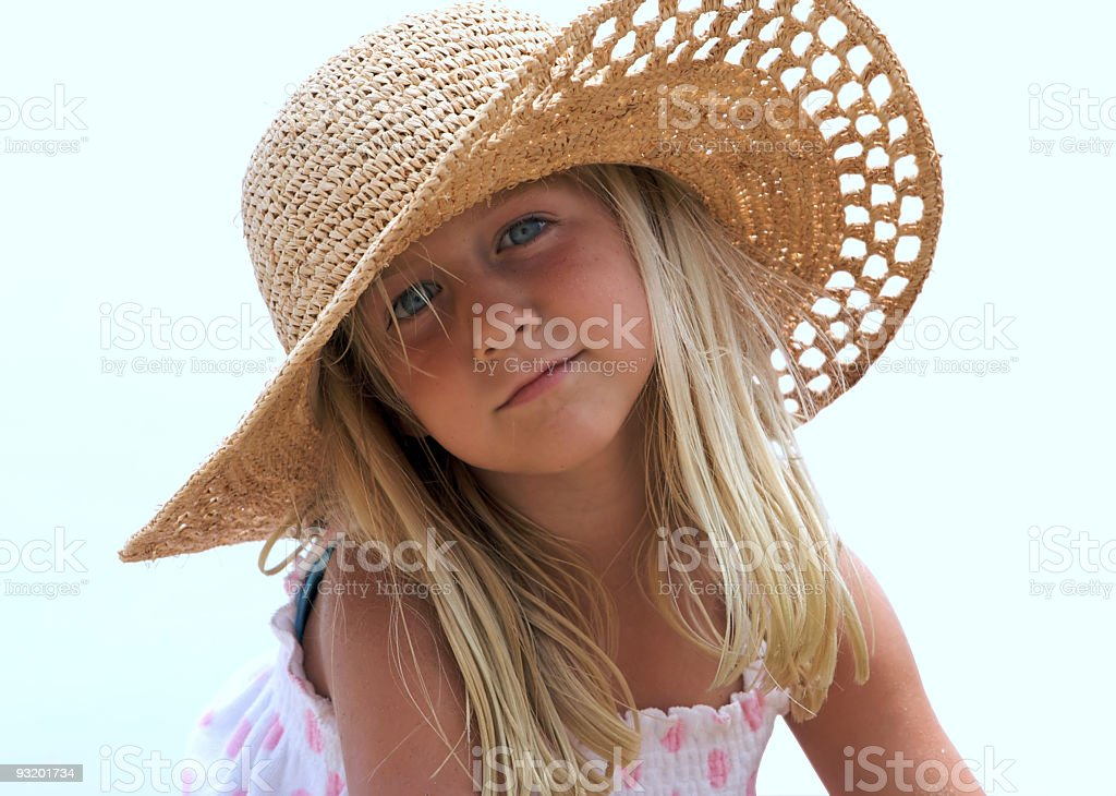 All American Girl royalty-free stock photo