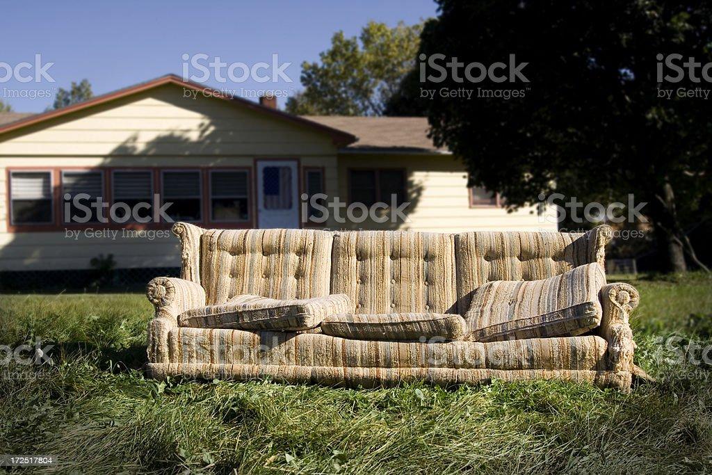All American Sofa royalty-free stock photo