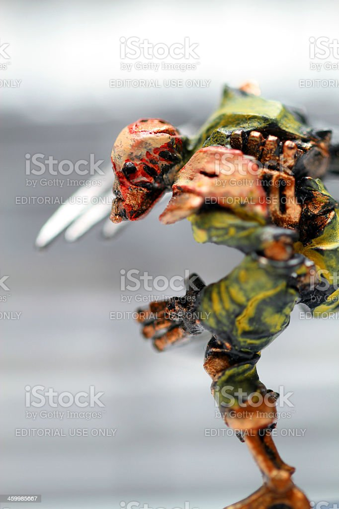 All Blades and Flesh royalty-free stock photo