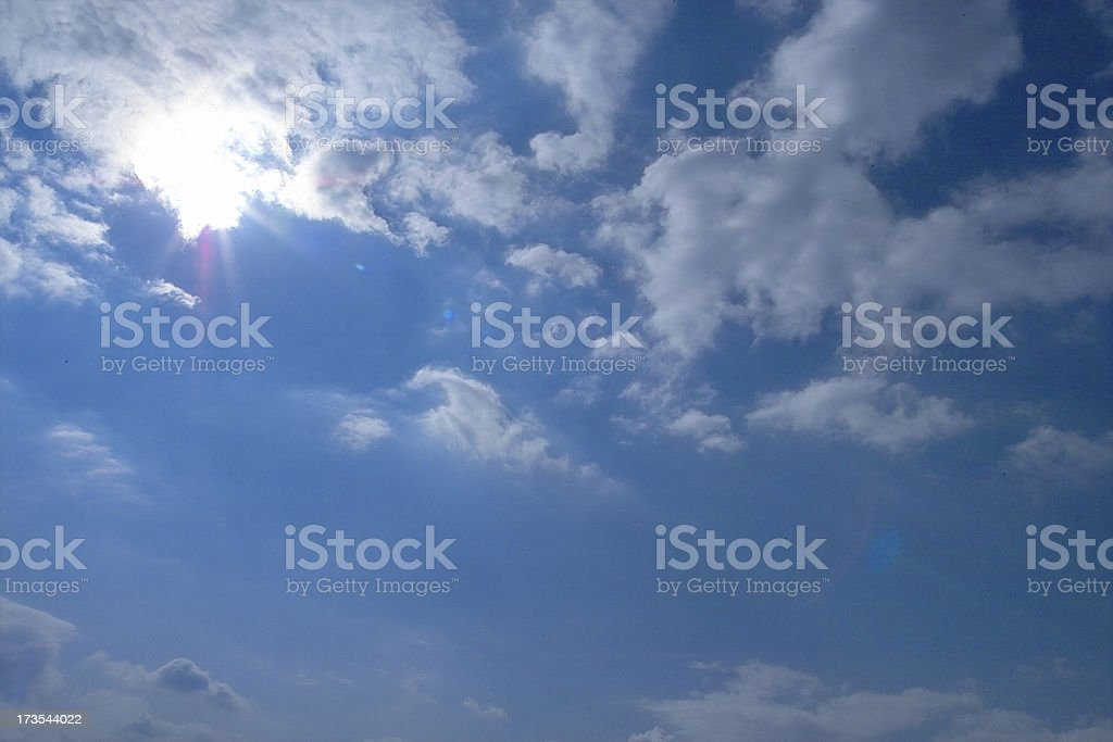 All clouds of the sky royalty-free stock photo