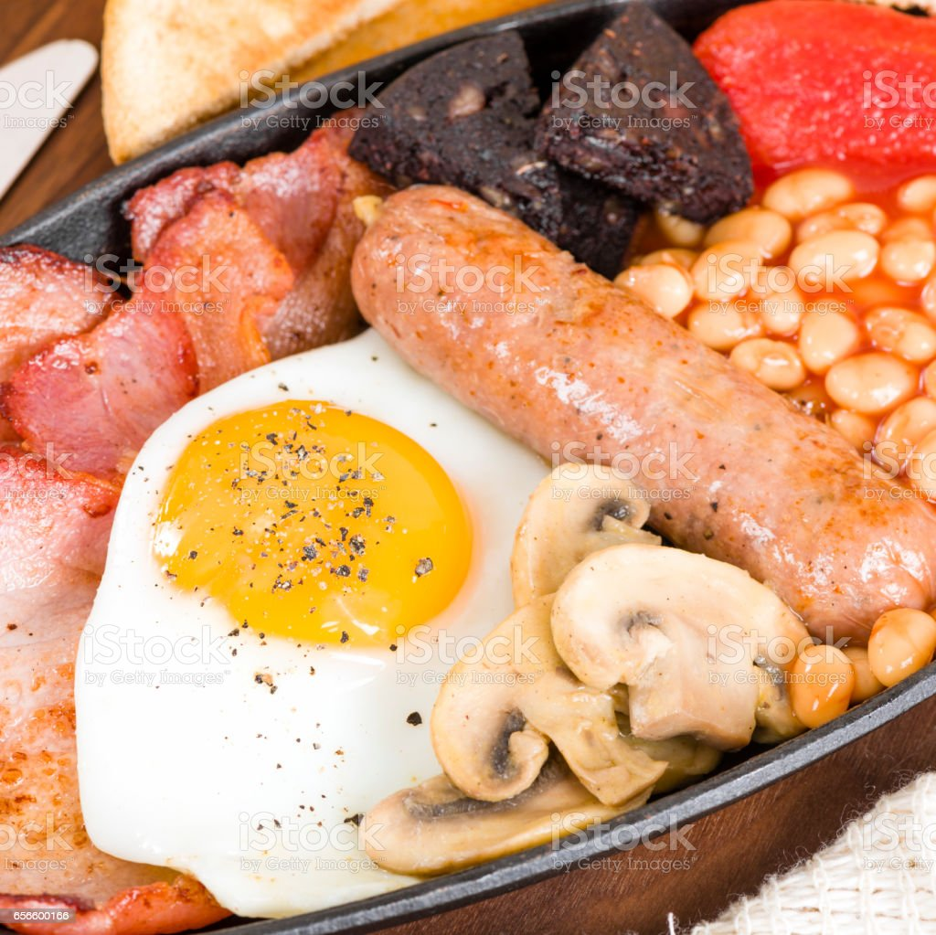 All Day Breakfast stock photo