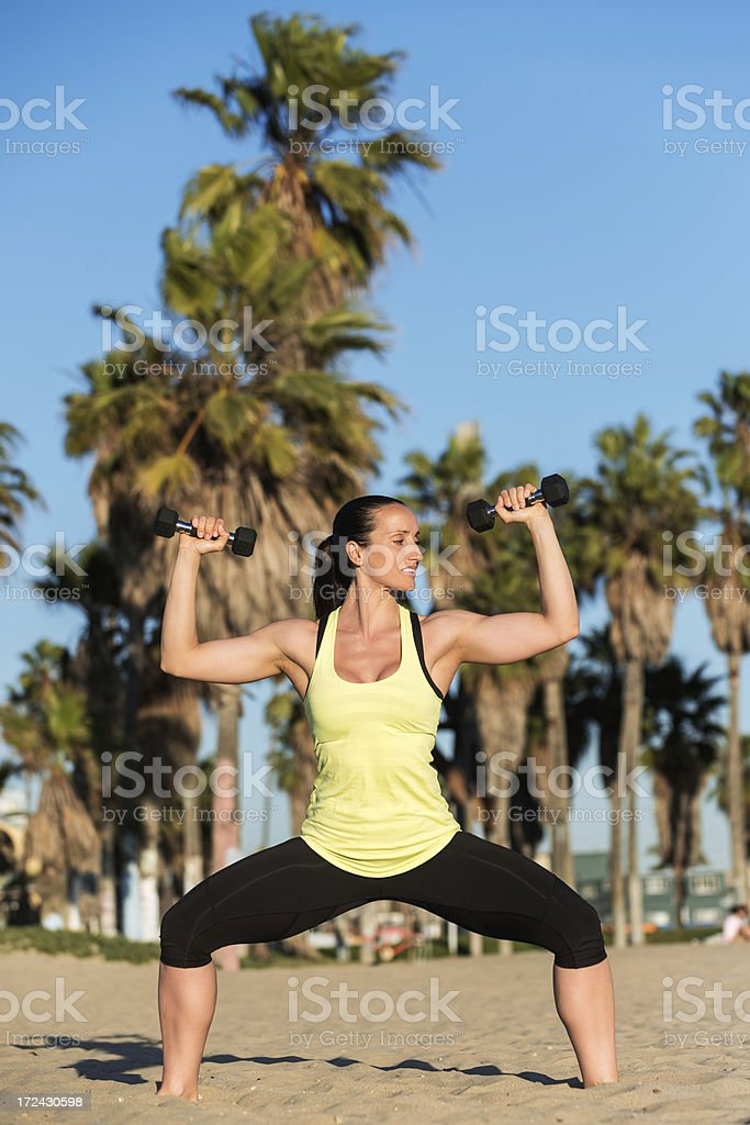 All day fitness royalty-free stock photo