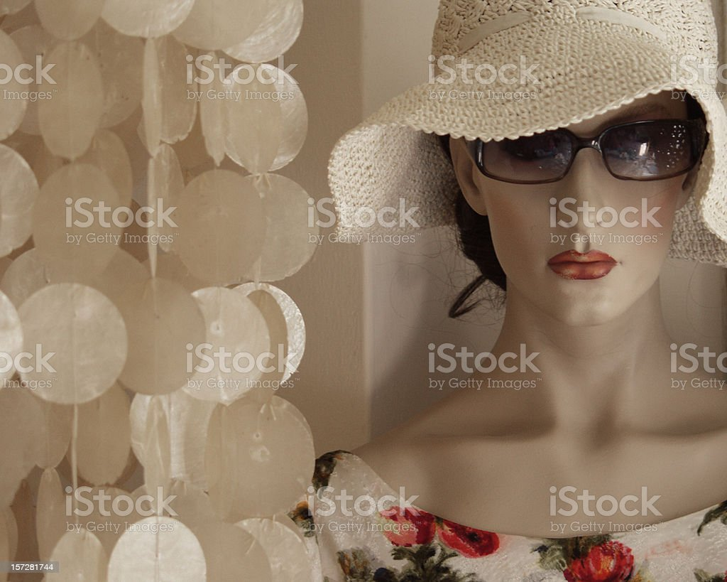 All dressed up... royalty-free stock photo