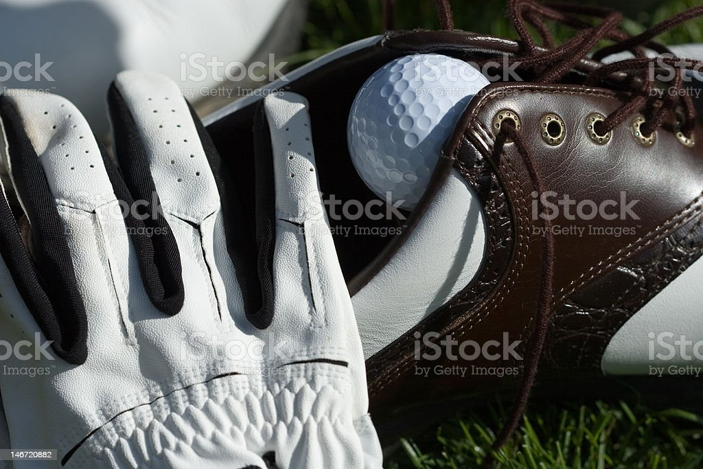all for golf stock photo