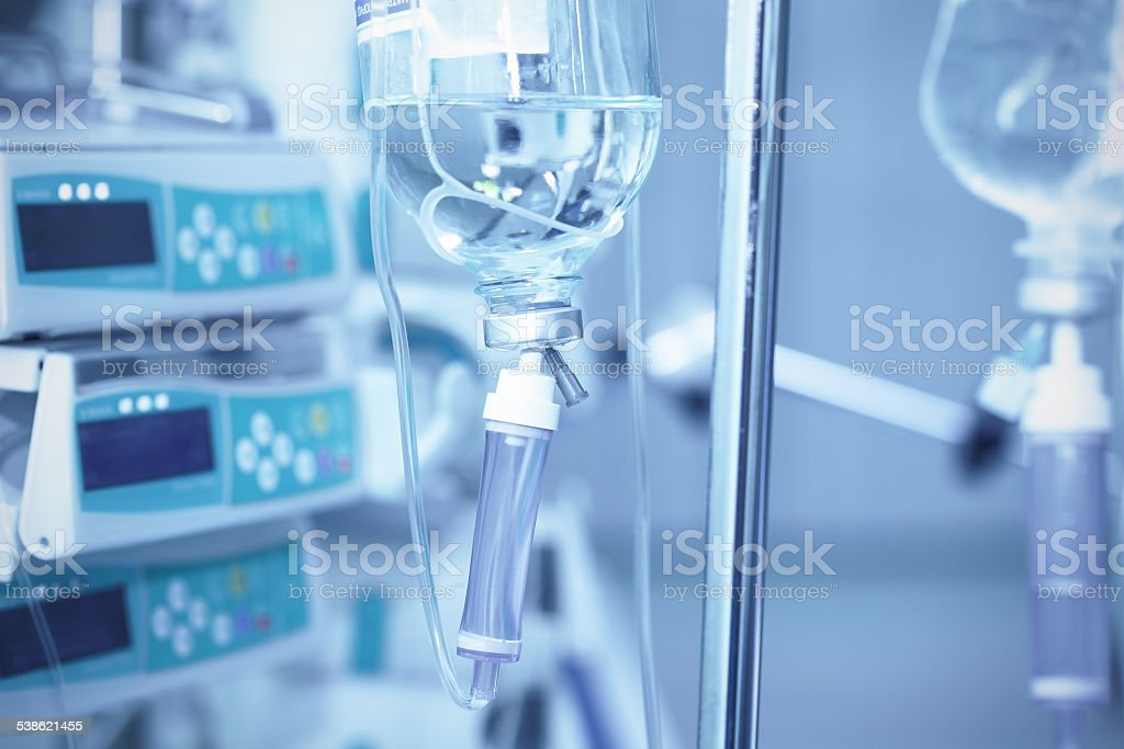 All for the treatment of the patient. stock photo