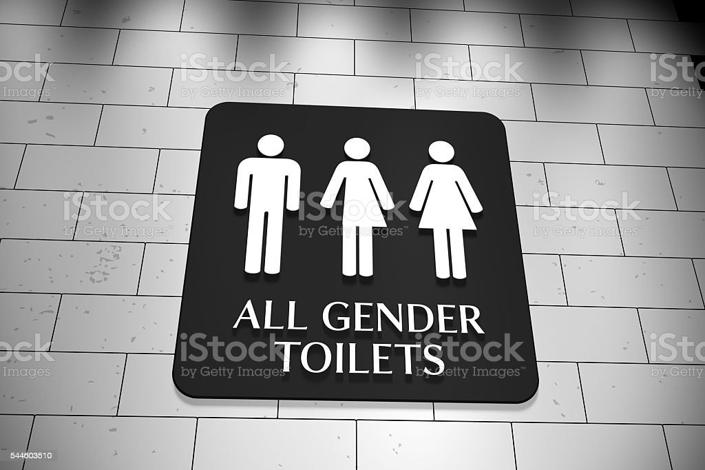 All Gender Toilets stock photo