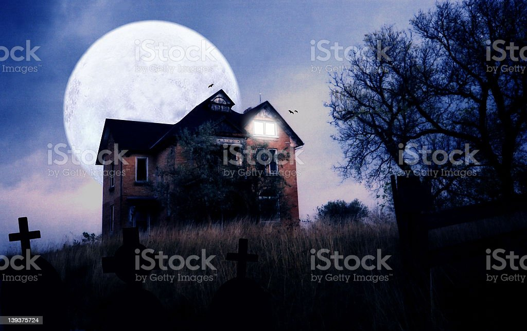 All Hallows Eve royalty-free stock photo