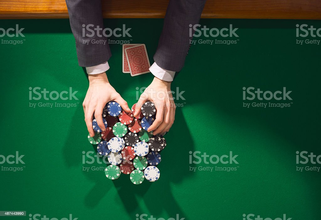 All in bet stock photo