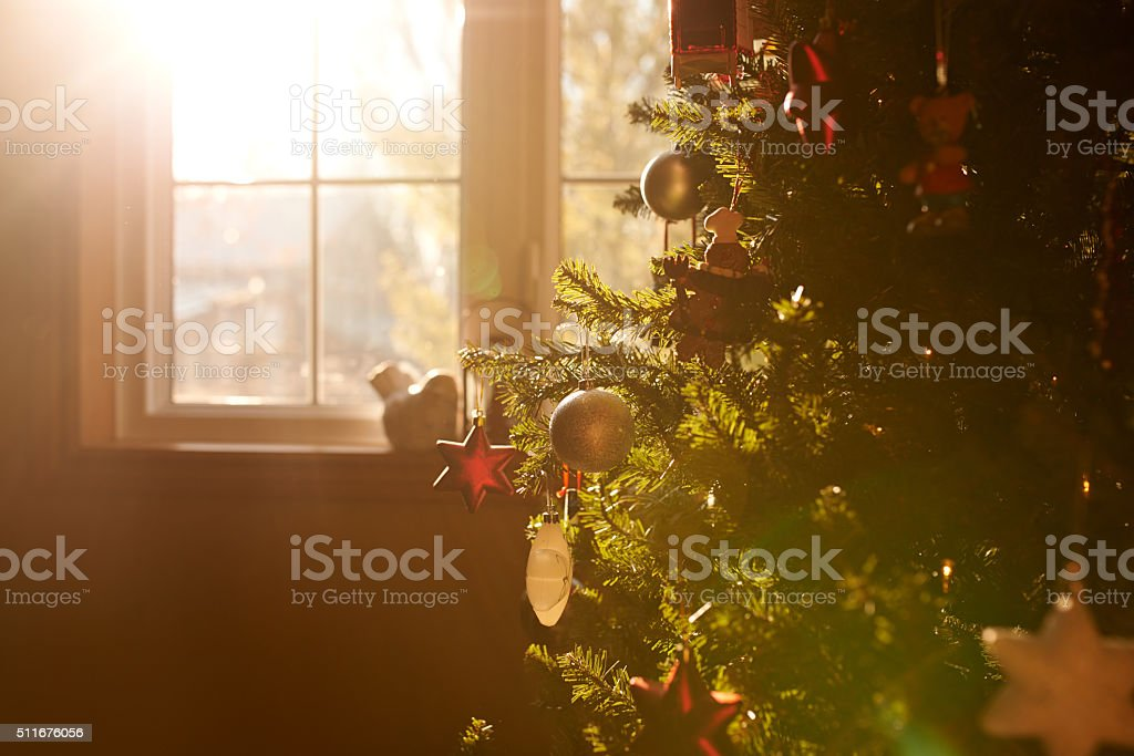 All is calm, all is bright stock photo