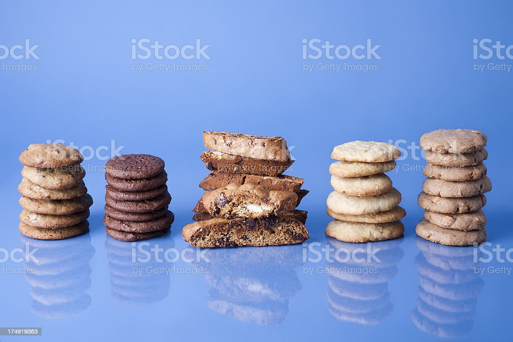 All Kinds of Cookies royalty-free stock photo