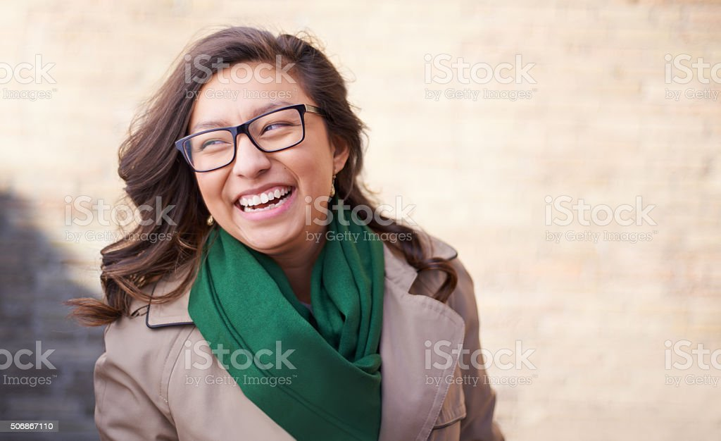 All kinds of happiness stock photo