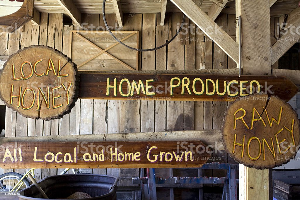 All Local and Home Grown stock photo
