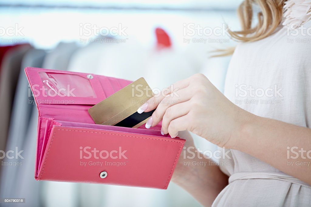 All my money with me all the time stock photo
