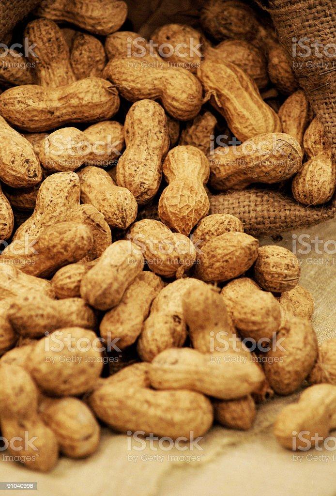 All Natural Peanuts royalty-free stock photo