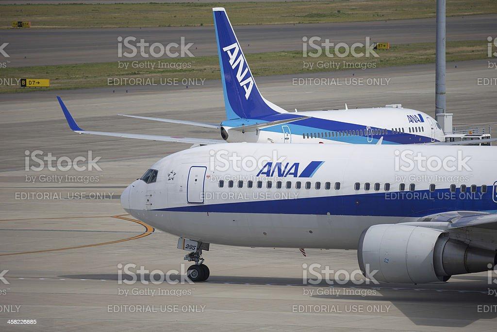 All Nippon Airways 全日空 stock photo