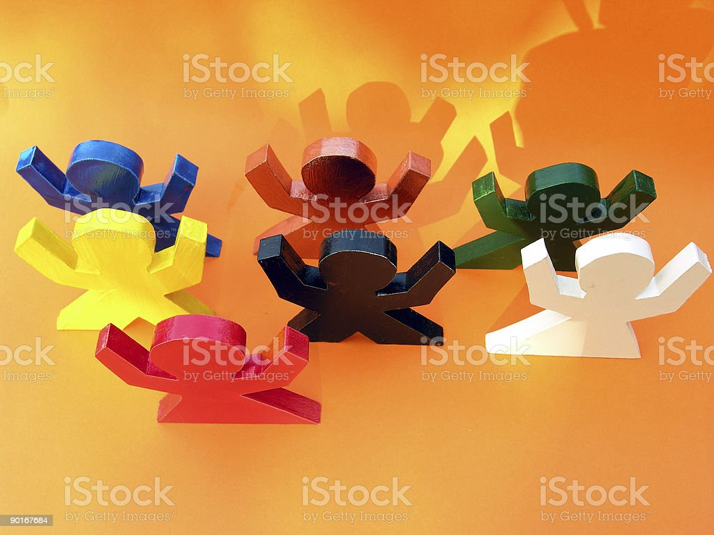 All Of Them royalty-free stock photo
