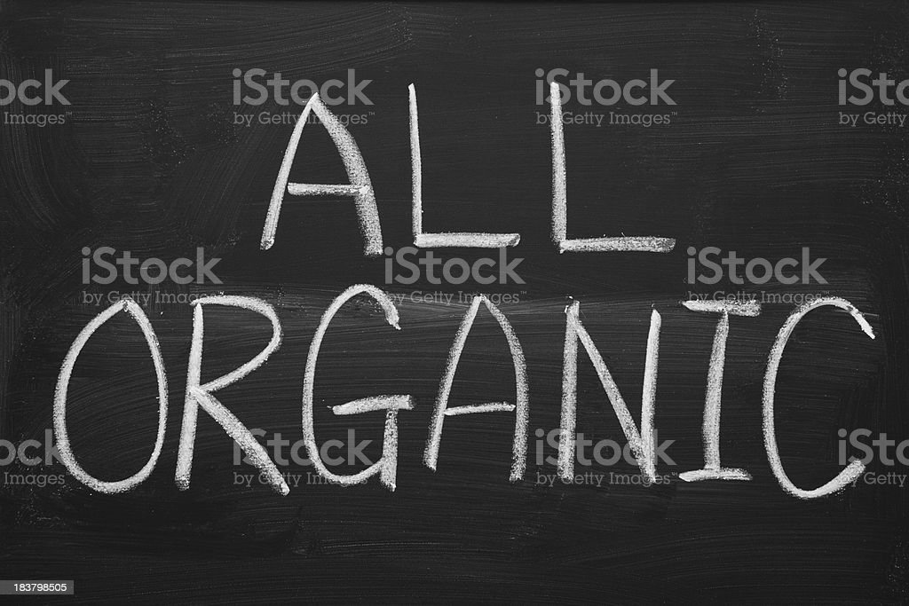 All Organic stock photo