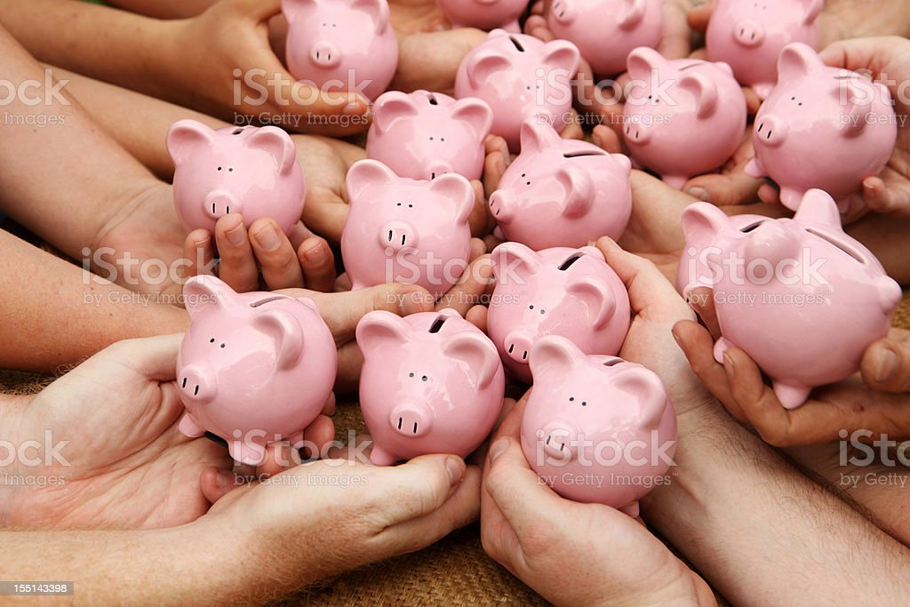 All our Savings Together stock photo