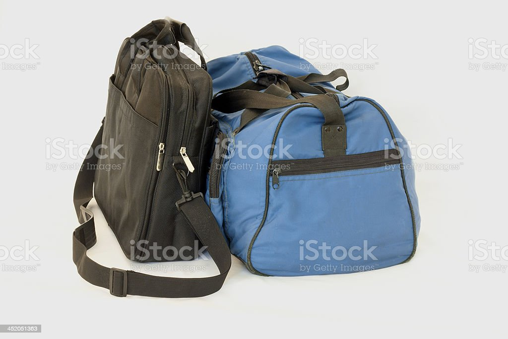 All packed and ready stock photo