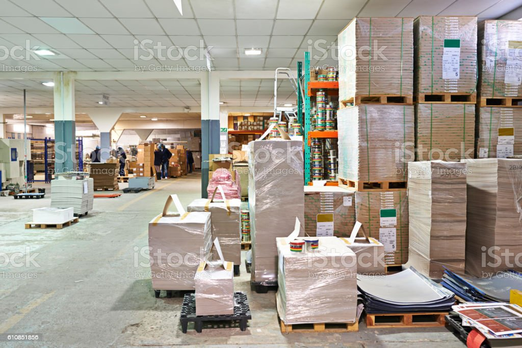 All ready for shipping stock photo