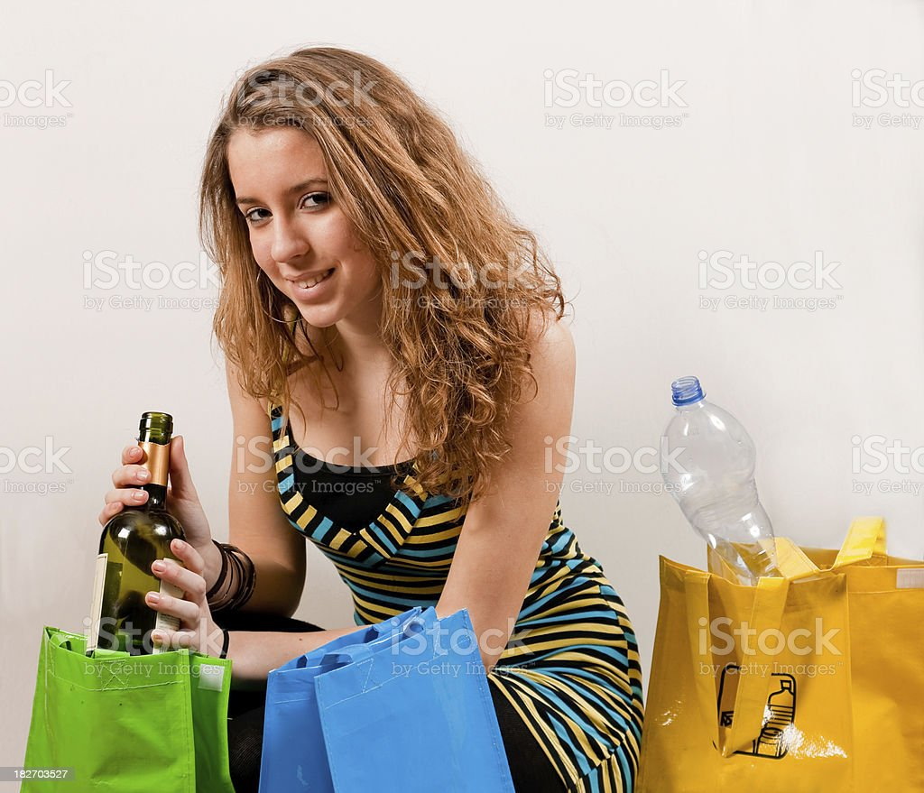 All recycle royalty-free stock photo