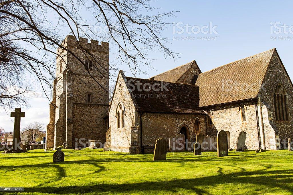 All Saint's Church in Snodland, Near Maidstone, Kent stock photo