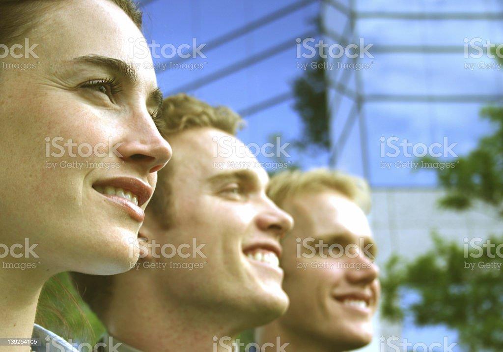 All smiles royalty-free stock photo