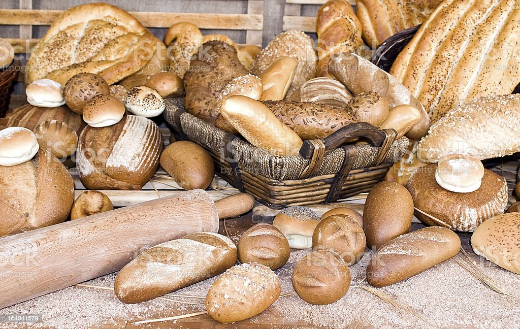 All sort breads royalty-free stock photo