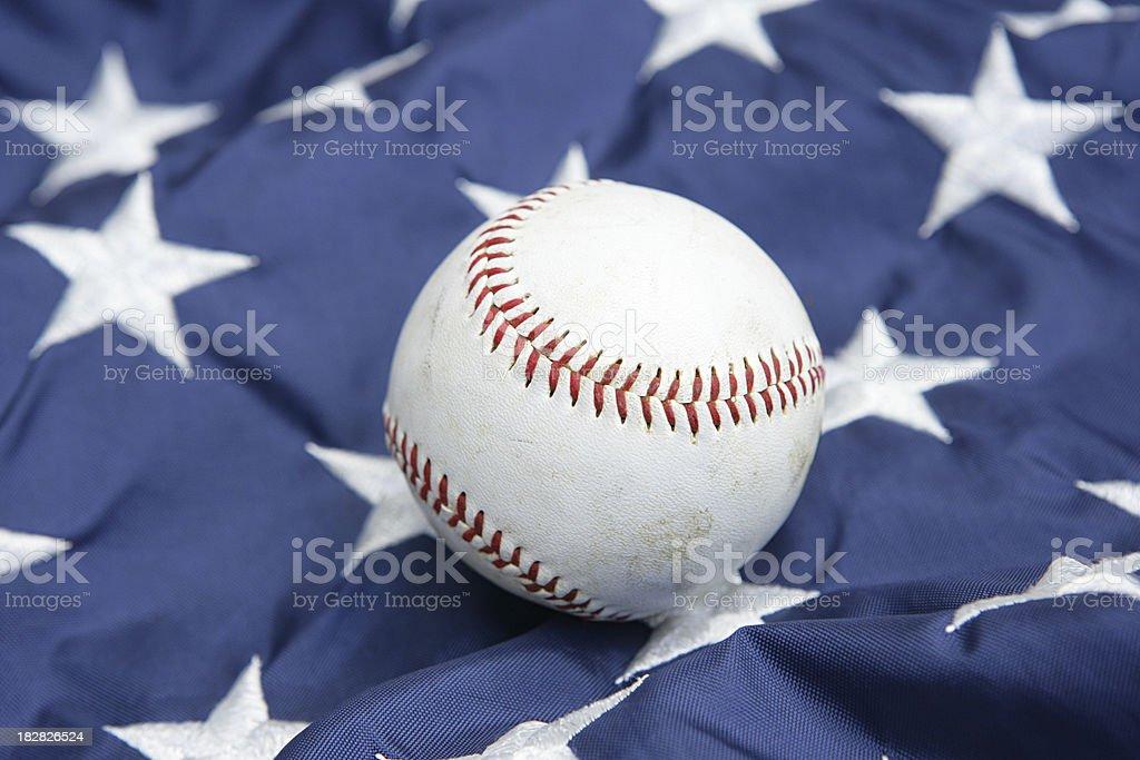 All Star Baseball stock photo