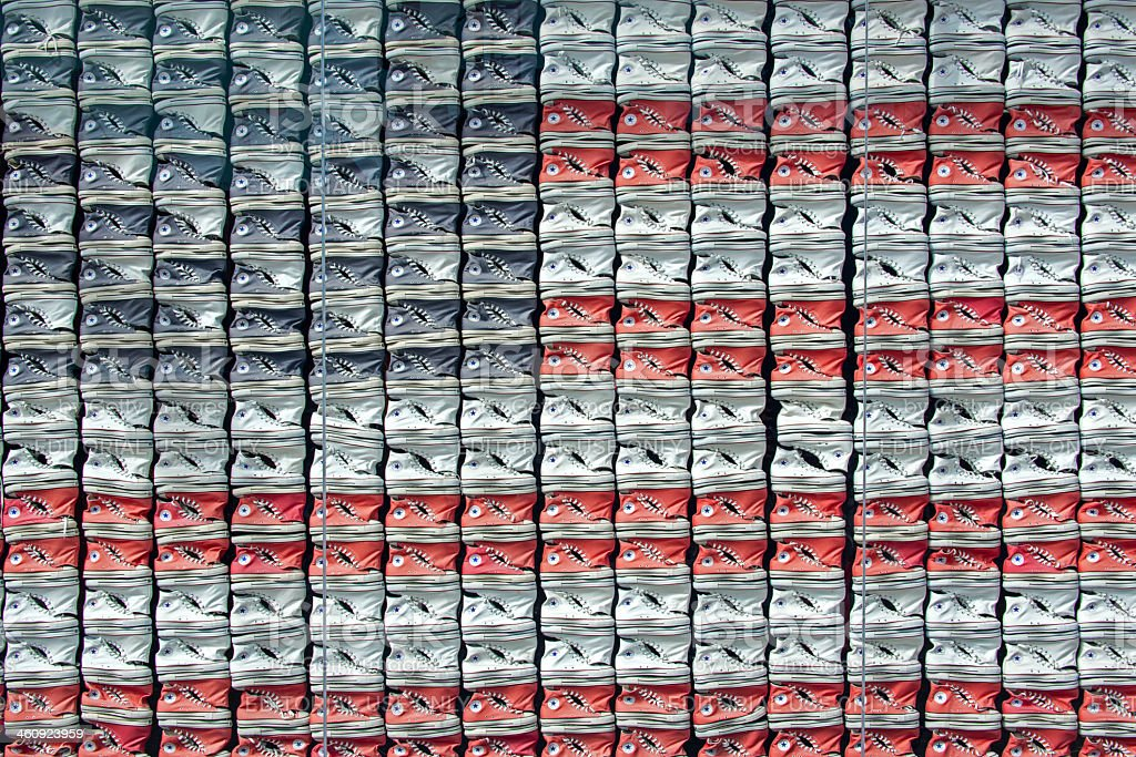 All Stars Sneakers stock photo