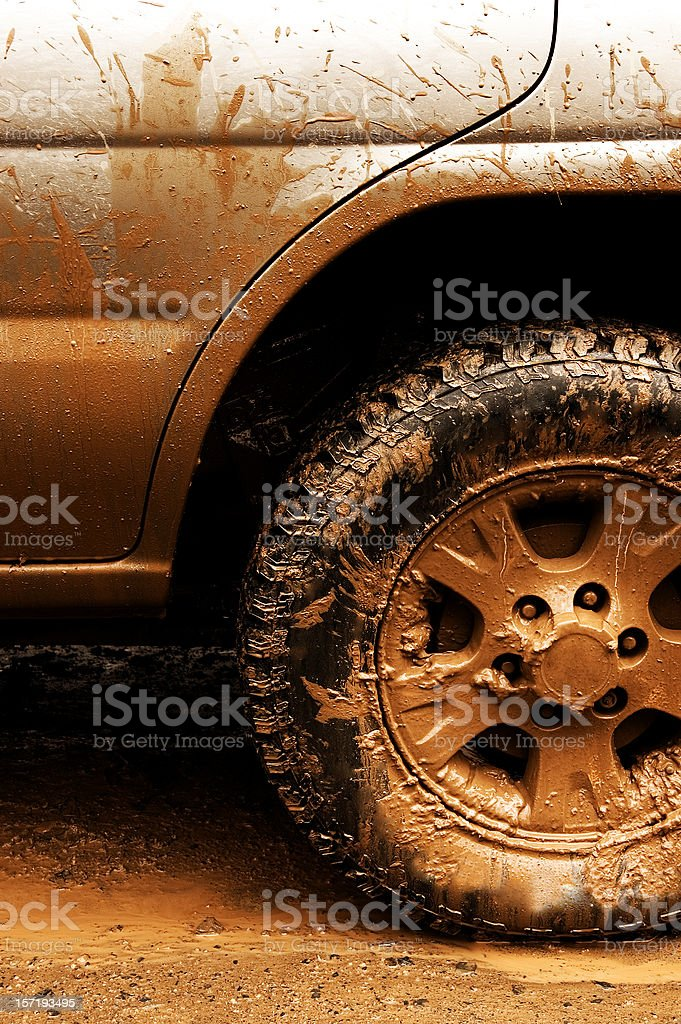 All Terrain Tire royalty-free stock photo