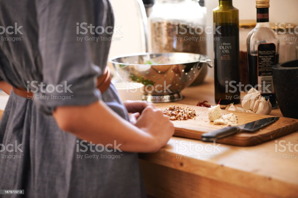 All the makings of a great meal stock photo