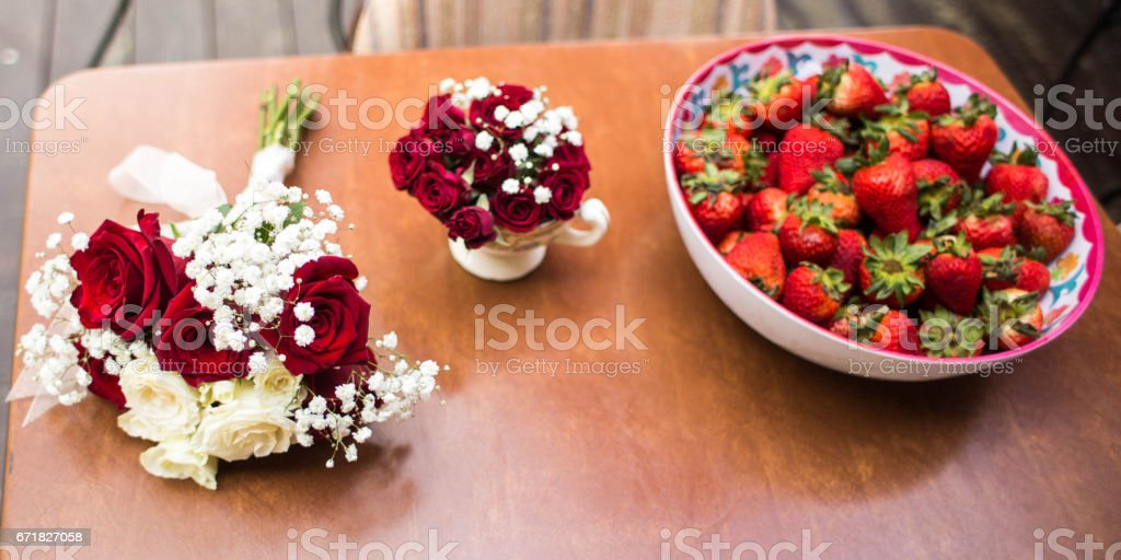 All Things Red stock photo